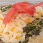 Arroz com Brócolis e Cenoura
