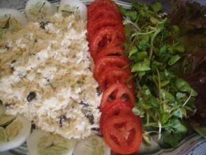 Salada de Repolho Cru com Passas