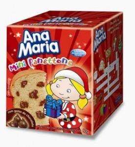 Mini-Panettone Ana Maria, fofíssimos.