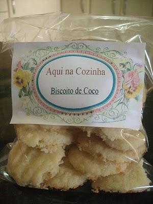 Biscoito de Coco Que Derrete na Boca