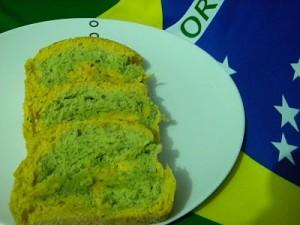 Pão Verde e Amarelo – Brasilllll!!!!!!