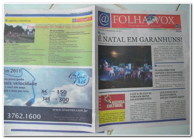 @FolhaVox – O novo jornal de Garanhuns