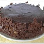 Torta Mousse de Manga com Chocolate à Rádio Marano