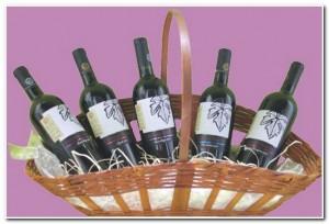 #Sorteio de Páscoa. Quem quer uma cesta com 5 vinhos?