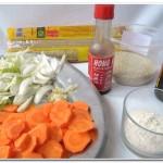 Fettuccine  c molho chinês (2)