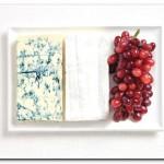 França - Queijo azul, brie, uvas