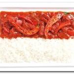 Indonésia - Curries picante e arroz (Sambal)