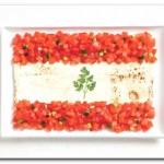 Líbano - Lavash, fattoush, erva primavera