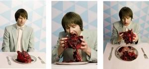 bolo em formato de coração