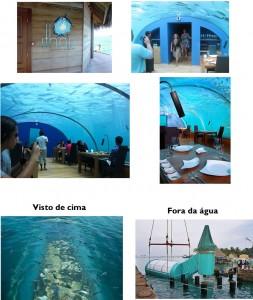 restaurante embaixo da água