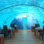 Ithaa, o restaurante que fica embaixo da água