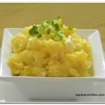 Salada de Batata com Ovo Cozido