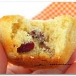 Muffins de Cranberry Seco