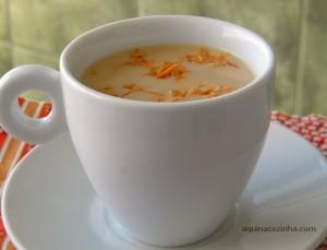 Café com Leite de Coco