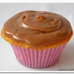Cupcake de creme de amendoim