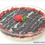 Sobremesa de Morango com Chocolate