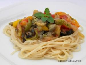 Ratatouille Com Espaguete