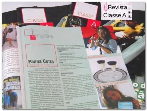 O blog saiu na Revista Classe A