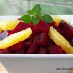 Como cozinhar beterraba e fazer uma deliciosa salada com laranja