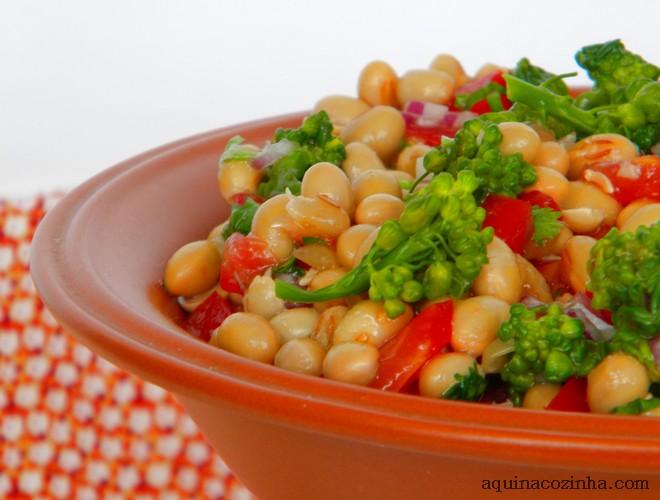 Salada de soja com brocolis 5 Salada de Soja Com Brocolis