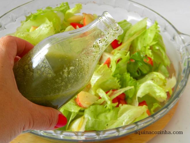 Molho de hortelã para salada (2)