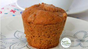 Muffin Bolinho Maça
