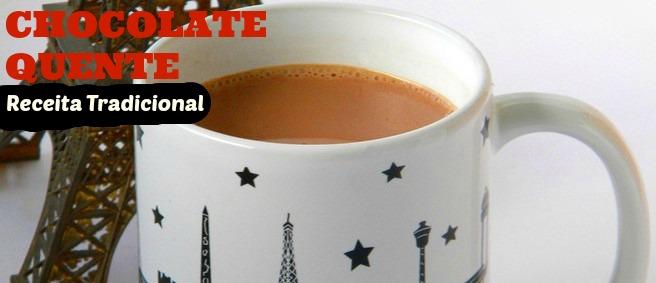 Chocolate quente fácil e cremoso