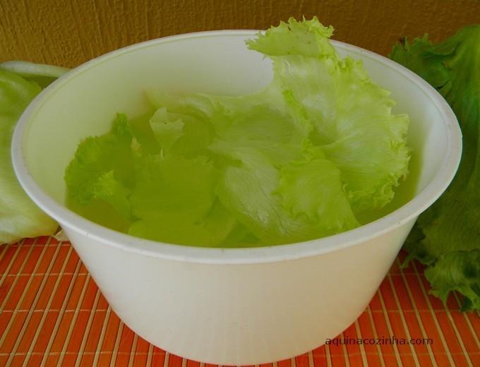 como lavar verduras