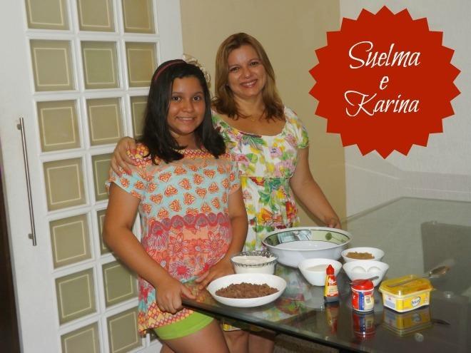 Cookies de chocolate da Karina