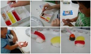 Brinquedo Japonês – Popin Cookin – Kit Sushi