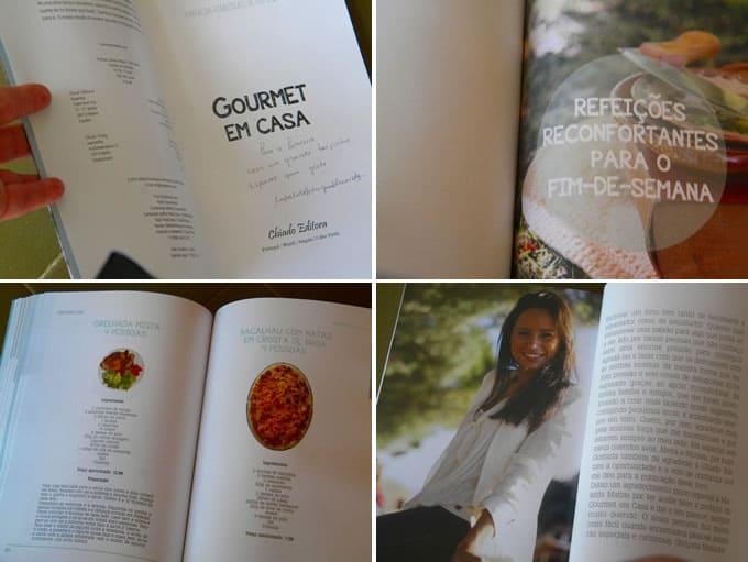 Livro Gourmet em casa