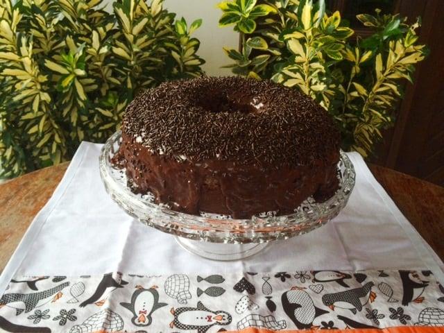 Bolo de Chocolate da Letícia e da Juliana