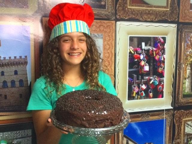 Bolo de chocolate da Leticia