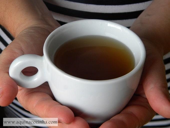 chá antioxidante