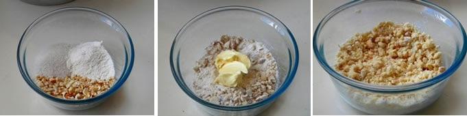 Farofa para pão doce