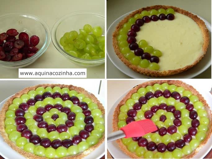 torta de uva