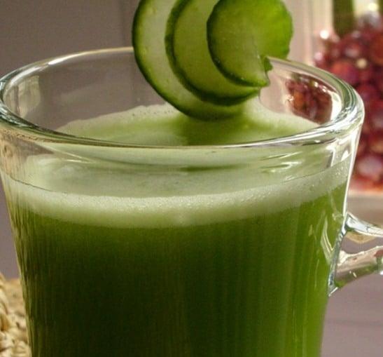 10 considerações sobre o suco verde