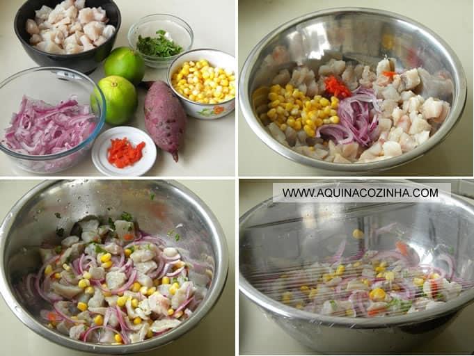 Como Fazer Ceviche em casa
