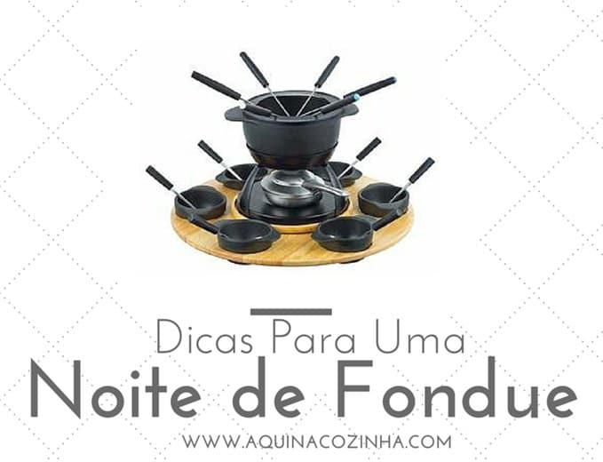 Como fazer fondue
