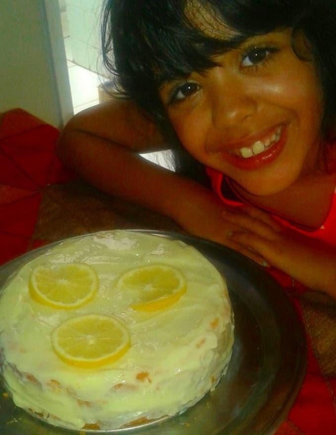 Bolo de Limão Siciliano a Giovanna