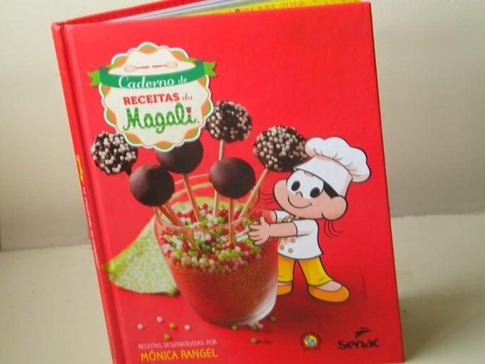Livro: Caderno de Receitas da Magali