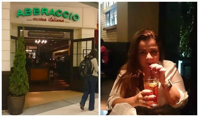 Conhecendo o Abbraccio Restaurante