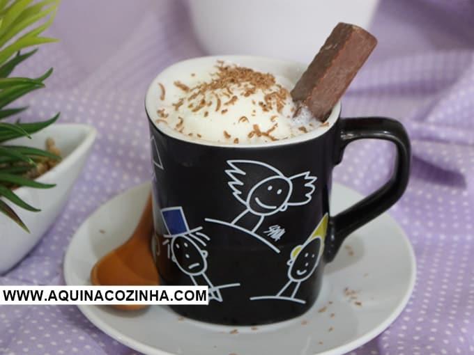 Chocolate Quente Affogato
