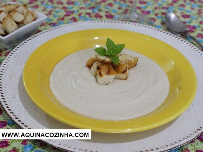 Sopa Creme de Couve-Flor