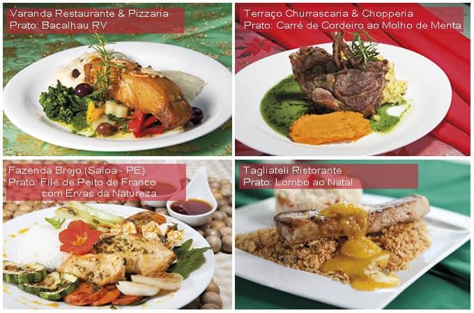 Festival Gastronômico de Garanhuns - 2017 - Restaurantes Participantes