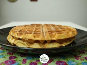 waffle receita