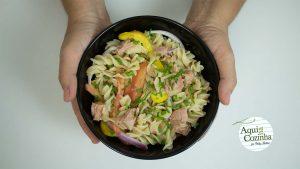 Salada Macarrão Atum